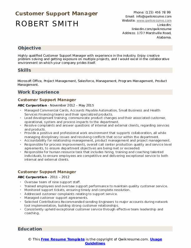 customer support manager resume samples qwikresume services pdf does education or Resume Support Services Manager Resume