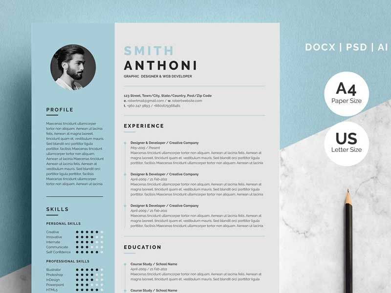 cv template free best resume examples creative word samples for over environmental Resume Creative Resume Word Template Free Download