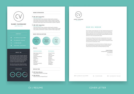 cv template photos royalty free images graphics vectors adobe stock resume templates Resume Adobe Stock Resume Templates