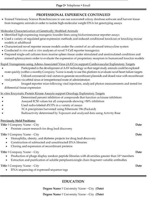 cv template research scientist resume format examples job auto service manager Resume Scientist Resume Examples