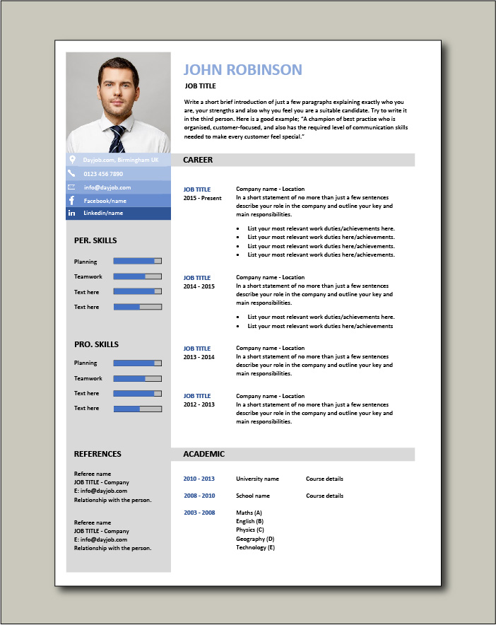 cv templates impress employers universal resume template free thoughts etl tester good Resume Universal Resume Template