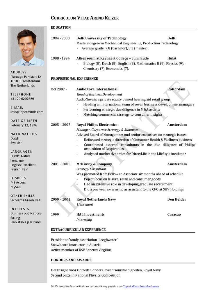 cv templates pesquisa google sample resume format downloadable template free with Resume Free Resume Template With Headshot