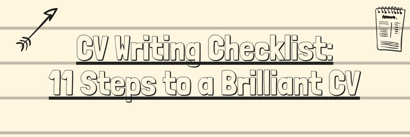 cv writing checklist steps to brilliant infographic resume image make your stand out Resume Resume Writing Checklist