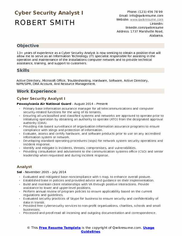 cyber security analyst resume samples qwikresume information sample pdf monster writing Resume Information Security Analyst Sample Resume