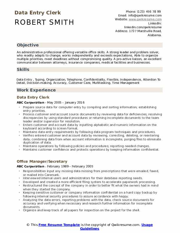 data entry clerk resume samples qwikresume reentering the workforce examples pdf Resume Reentering The Workforce Resume Examples