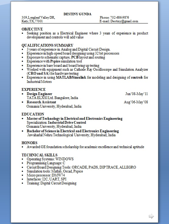 design engineer resume examples best tool example in word format free architecture firm Resume Tool Design Engineer Resume Example