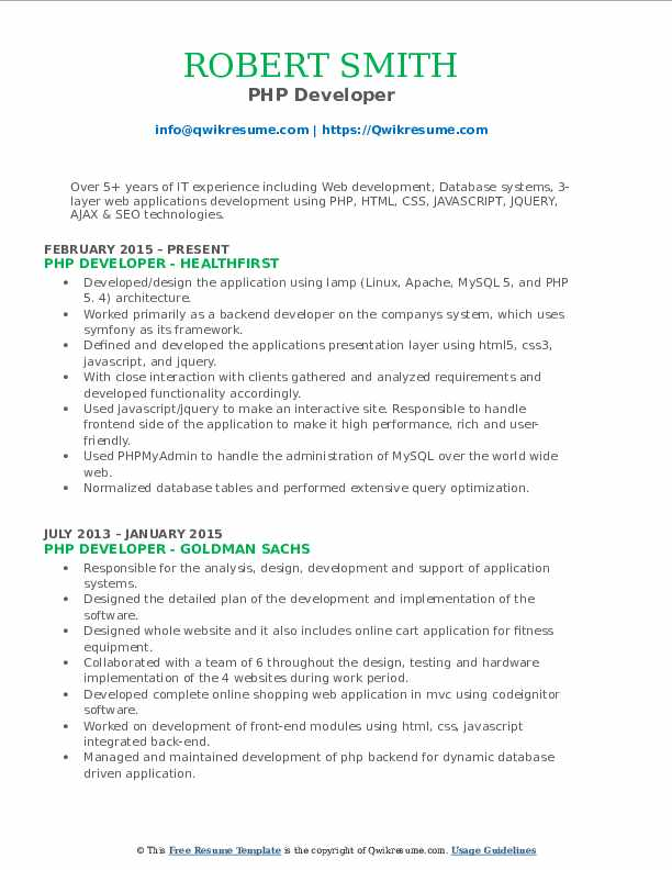 developer resume samples qwikresume sample for years experience pdf operations manager Resume Sample Resume For 3 Years Experience