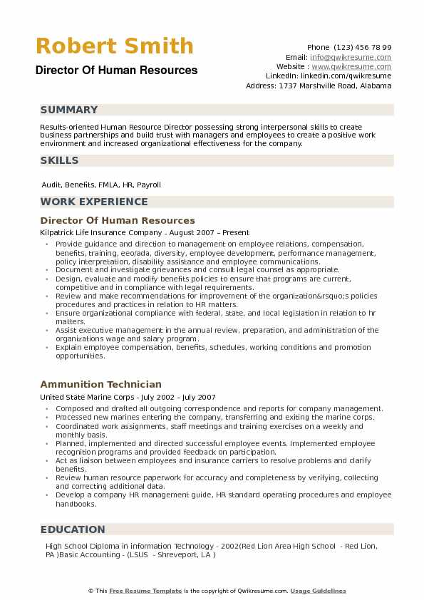 director of human resources resume samples qwikresume sample pdf cover letter for job Resume Human Resources Director Resume Sample
