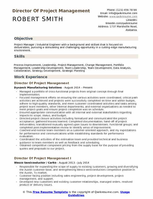 director of project management resume samples qwikresume pmo manager pdf child care Resume Pmo Project Manager Resume