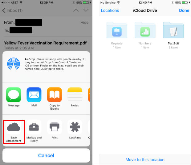 do save an email attachment directly to my icloud drive the iphone faq attach resume on Resume Attach Resume On Iphone