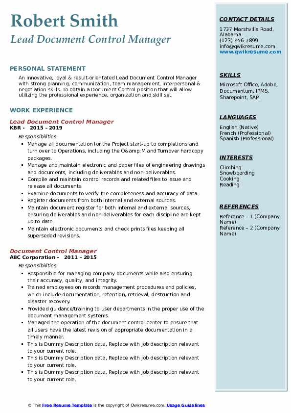 document control manager resume samples qwikresume sample pdf of medical assistant should Resume Document Control Manager Resume Sample