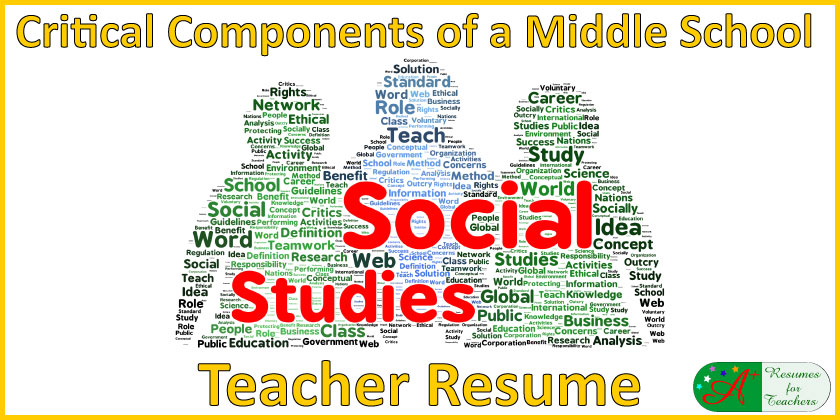 don forget these in your middle school social studies teacher resume example medical Resume Social Studies Teacher Resume Example