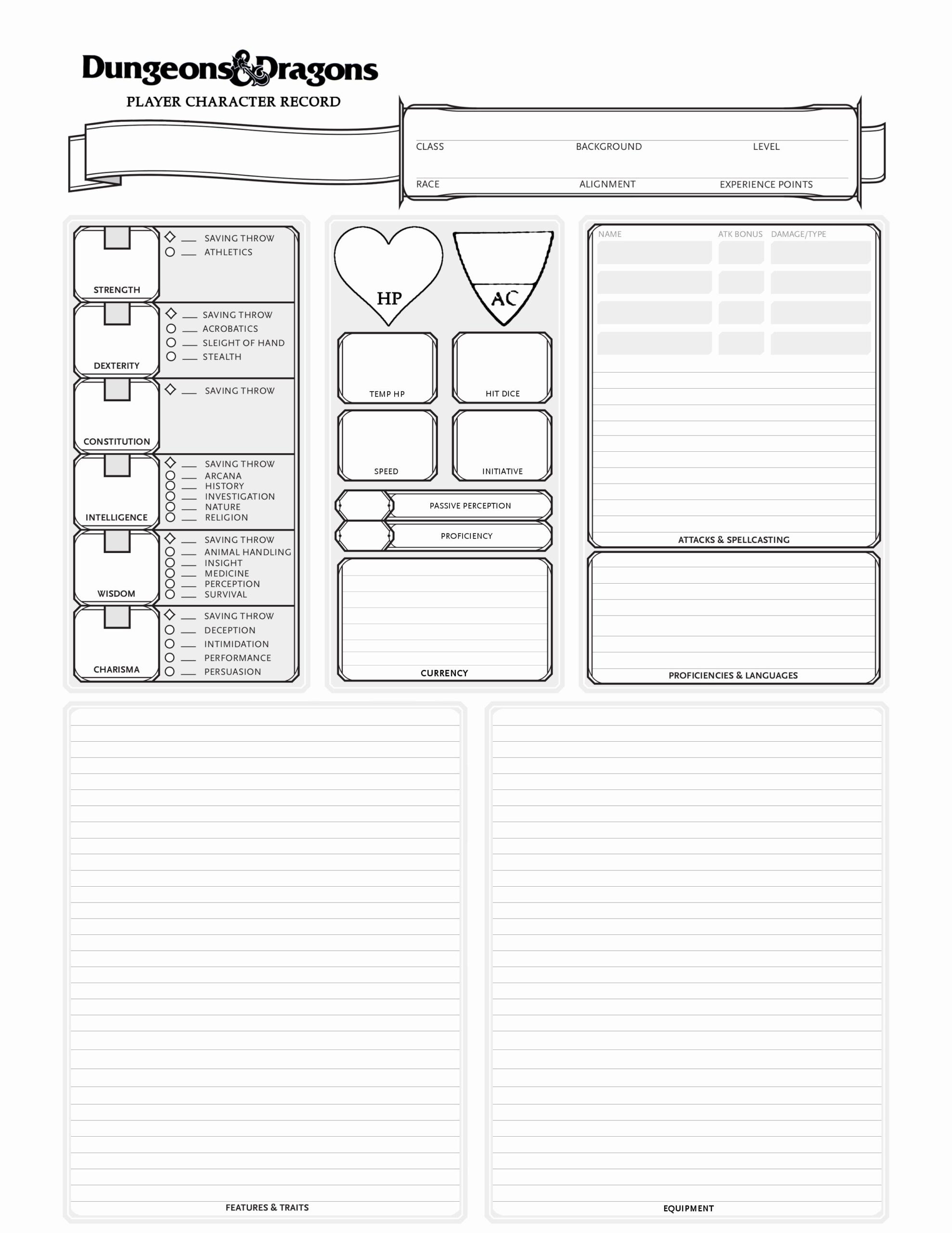 dungeons and dragons resume best of pin by geoffery carpenter on dungeon homebrew Resume D&d Character Sheet Resume