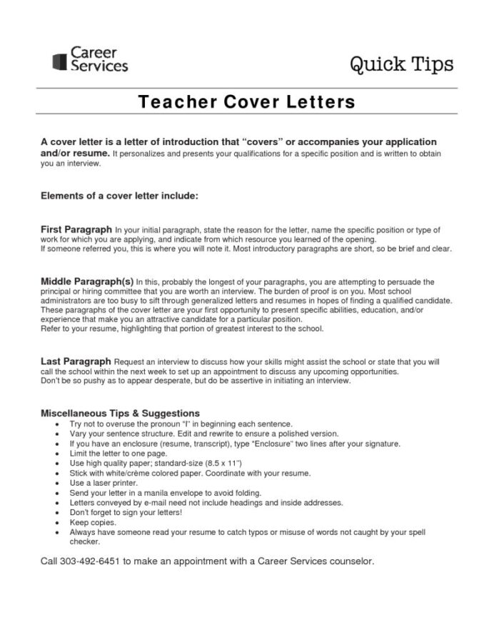 How To Write A Application Letter For Teaching Job Sample Teacher Candidate Resume And Coverletter Teaching Cover Letter Examples For Succ Teacher Cover Letter Example Cover Letter For Resume Job Cover