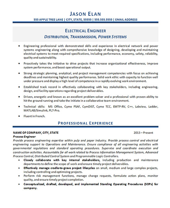 electrical engineer resume example career objective for electronics engineer1 disaster Resume Career Objective For Electronics Engineer Resume