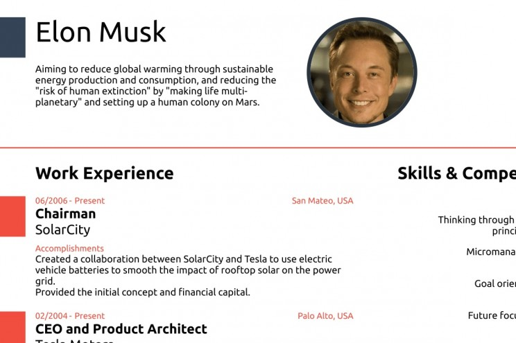 elon musk proves you never need cv longer than one resume of ceo google resize md planet Resume Resume Of Ceo Of Google