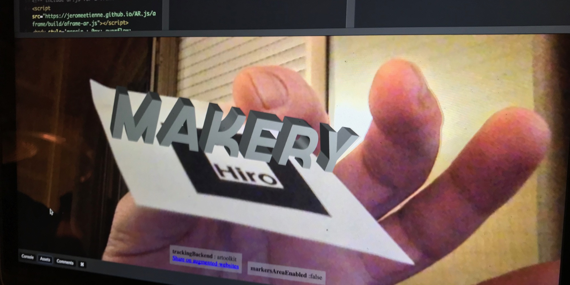embed augmented reality into your web with lines of code makery resume multiple locations Resume Augmented Reality Resume