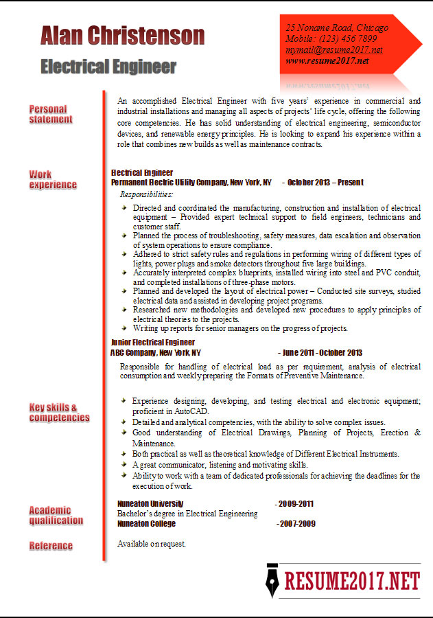 engineer resume examples core competencies electrical template winning games cover photo Resume Core Competencies Resume 2017