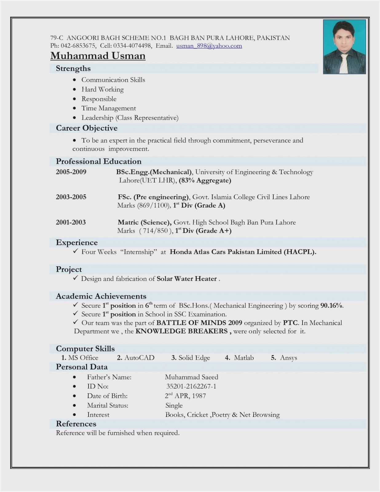 engineer resume template mechanical engineering format for freshers computer hardware and Resume Computer Hardware And Networking Engineer Resume