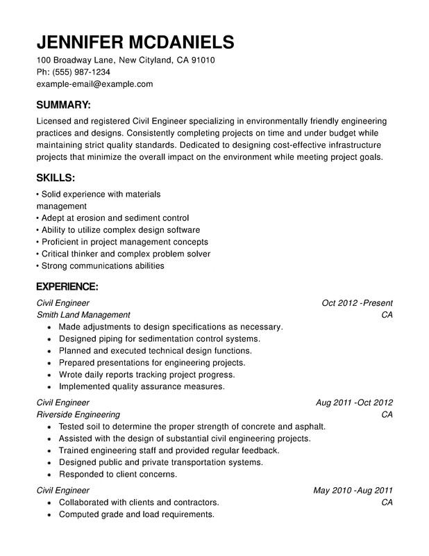 engineering chronological resume samples examples format templates help sample copy Resume Chronological Resume Sample
