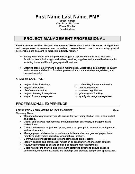 engineering project manager resume awesome engineer template templates executive projects Resume Resume Projects Section
