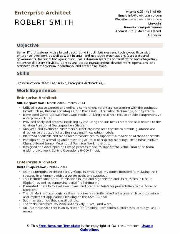 enterprise architect resume samples qwikresume pdf domestic worker tips and tricks cto Resume Enterprise Architect Resume
