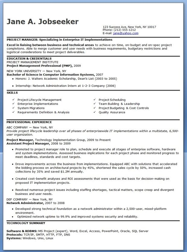 entry level it project manager resume downloads construction good exceptional examples Resume Entry Level Construction Manager Resume