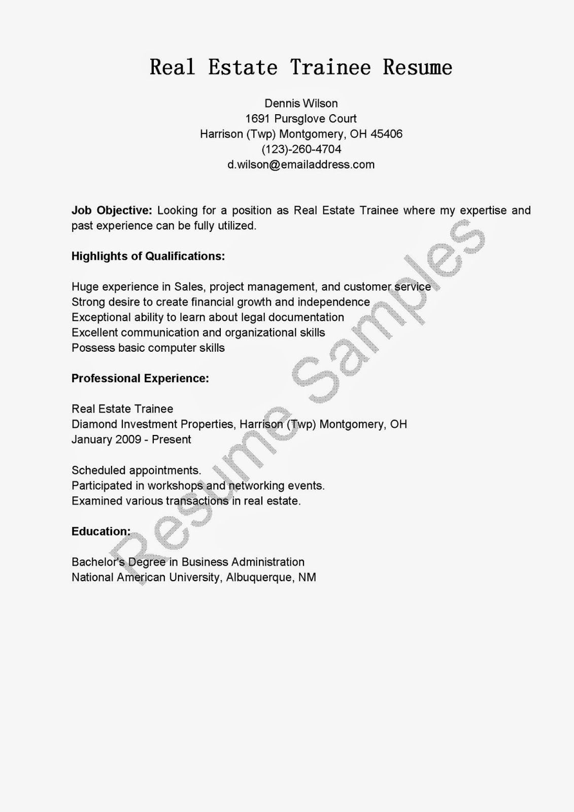 estate trainee resume sample objective skills technical for electrical engineer patient Resume Real Estate Resume Skills