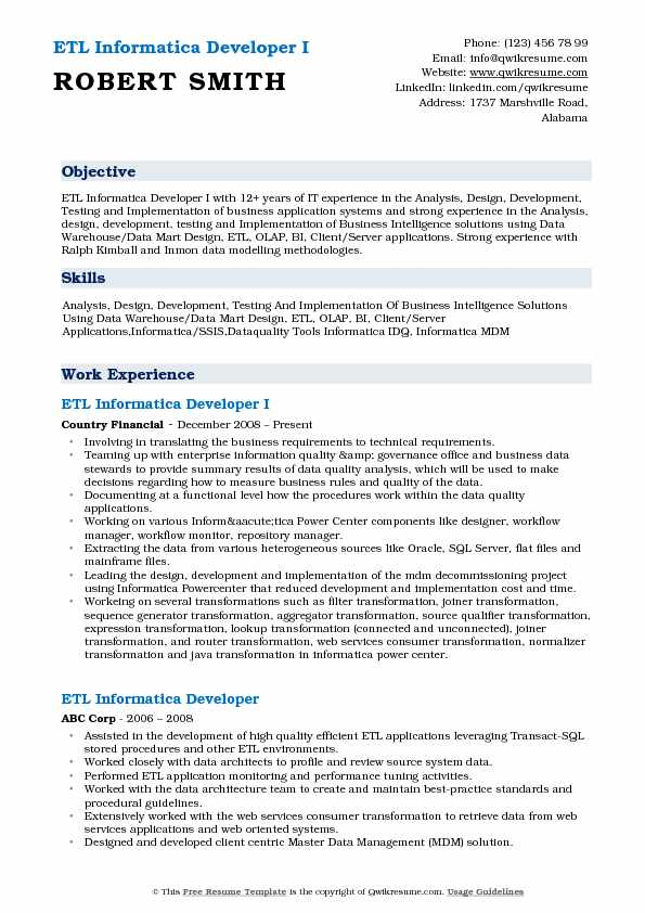 etl informatica developer resume samples qwikresume for years experience pdf verification Resume Informatica Developer Resume For 5 Years Experience