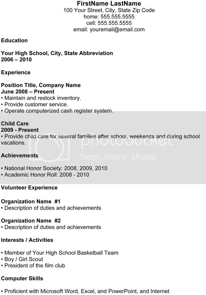 example resume recent high school graduate for college hs summary examples students Resume High School Graduate Resume For College