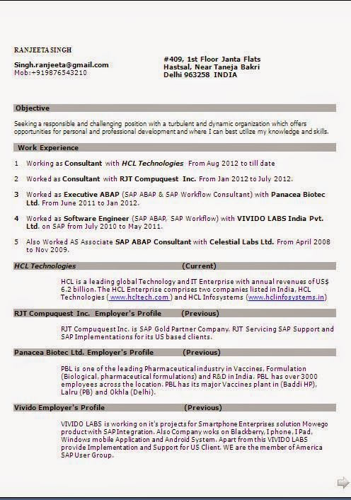 examples of resume skills kinds cv formats for free sap abap workflow builder that can Resume Sap Abap Workflow Resume