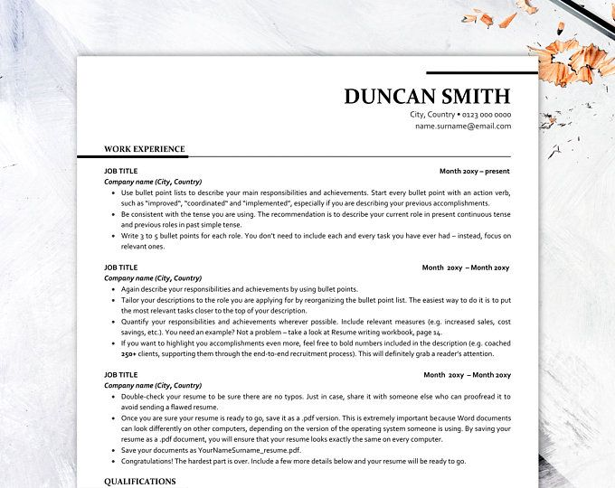 executive resume template ats friendly with icons etsy in cover letter free basic summary Resume Ats Friendly Resume Template Free 2019