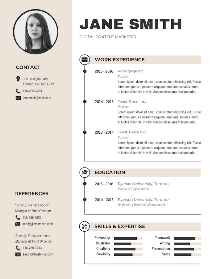 expert resume design ideas from hiring manager business template modern simple email for Resume Business Resume Template