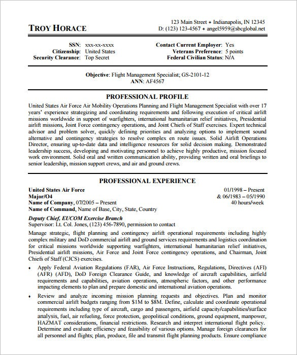 federal resume template word pdf free premium templates example us air force research Resume Federal Resume Example 2018