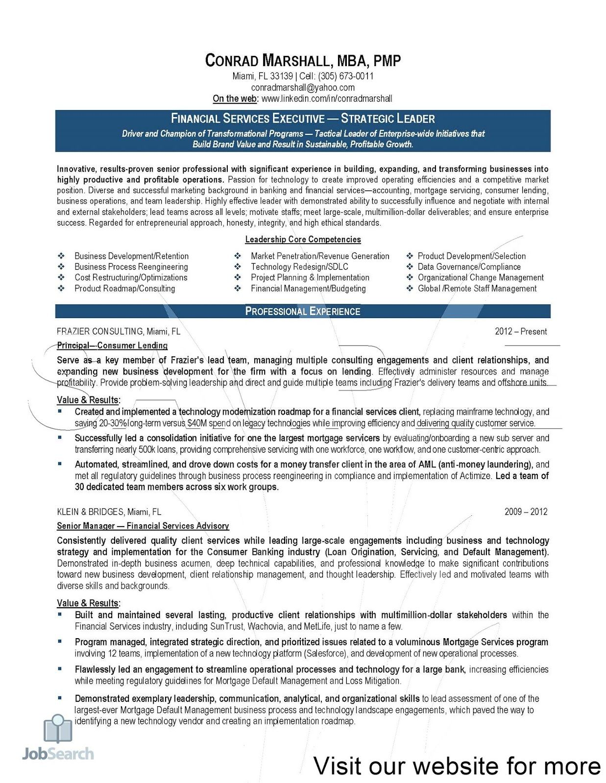 financial services marketing resume summary computer science example consumer reports Resume Financial Services Resume