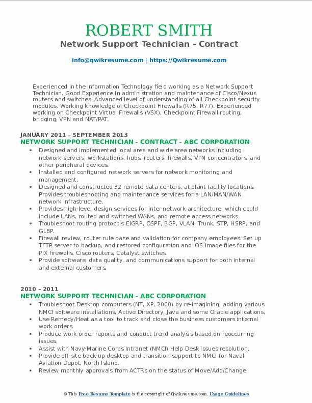 firewall engineer resume samples qwikresume checkpoint network support technician pdf Resume Checkpoint Firewall Resume