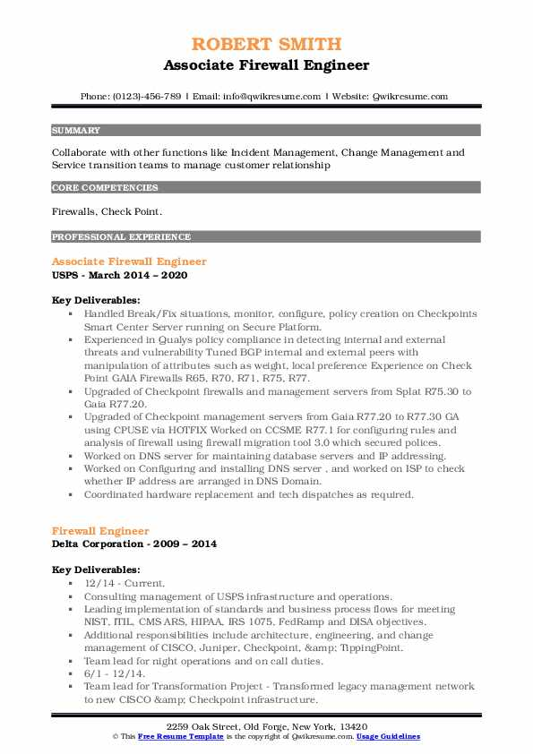 firewall engineer resume samples qwikresume checkpoint pdf email cover letter for Resume Checkpoint Firewall Resume