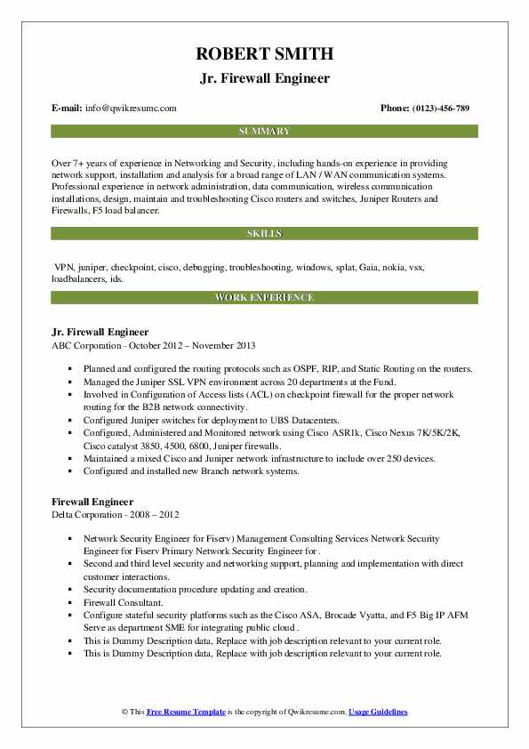 firewall engineer resume samples qwikresume checkpoint pdf front office coordinator free Resume Checkpoint Firewall Resume