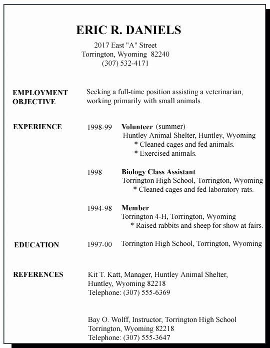 first job resume template best of sample for time seeker samples objective entry level Resume First Time Resume Objective Samples