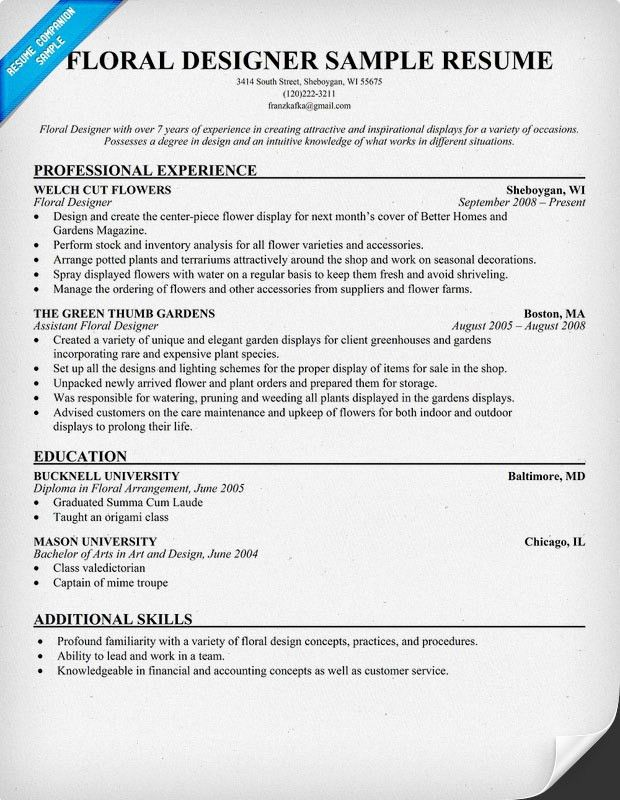 floral assistant sample resume professional templates to showcase your talent just basic Resume Floral Assistant Resume
