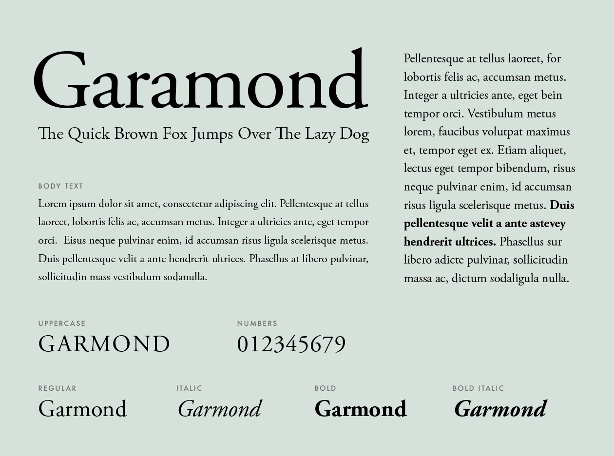 fonts should you use for your resume appropriate font garamond simple high school Resume Appropriate Font For Resume