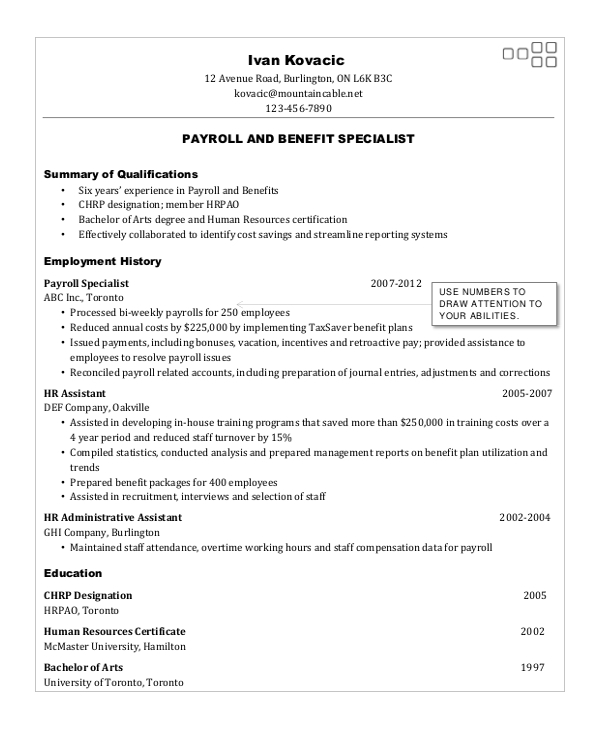 for forklift resume samples format specialist toronto skills you can put on experience Resume Resume Specialist Toronto