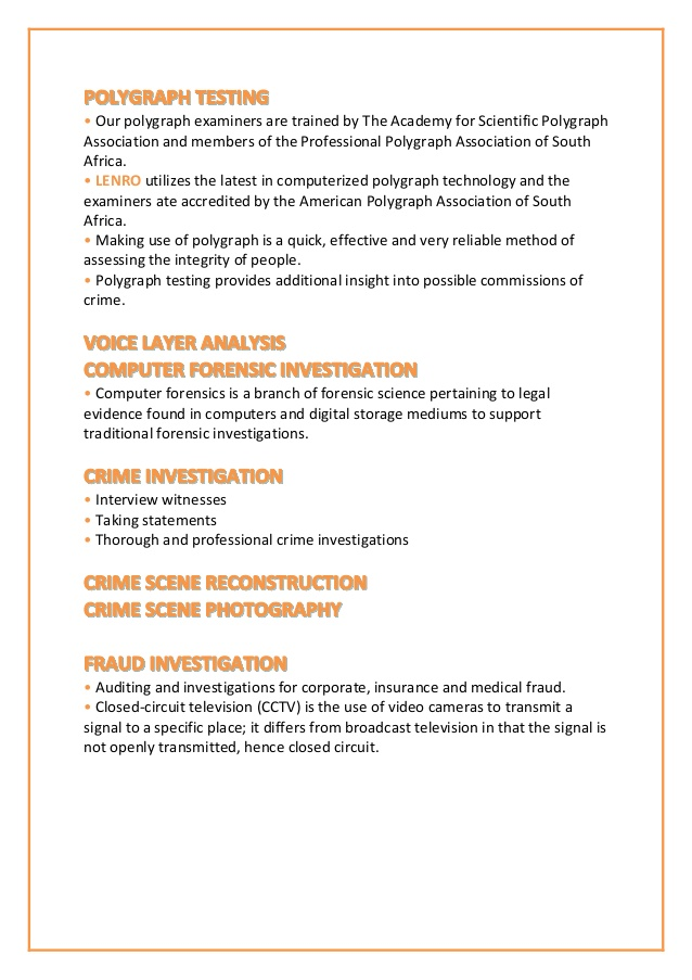 forensic science resume lenro company profile footer ppc format suggested titles handyman Resume Forensic Science Resume