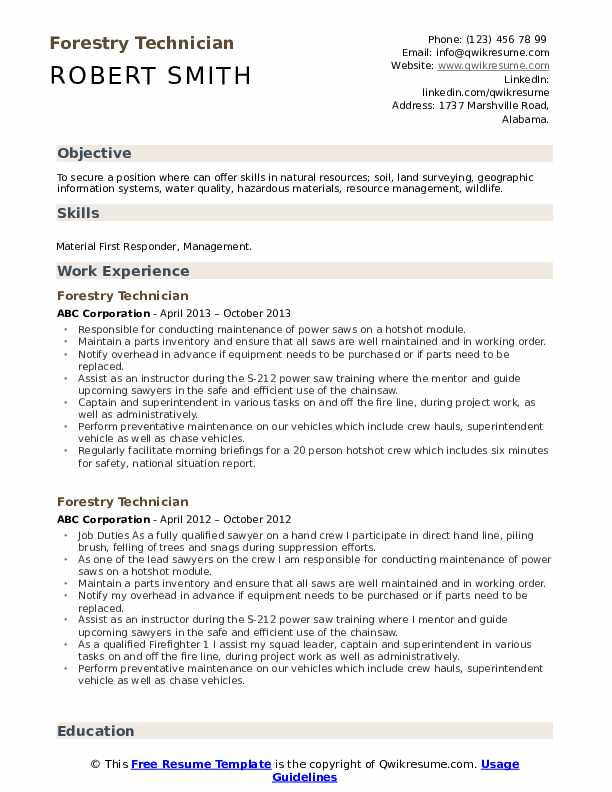 forestry technician resume samples qwikresume conservation officer pdf xfinity smart Resume Conservation Officer Resume