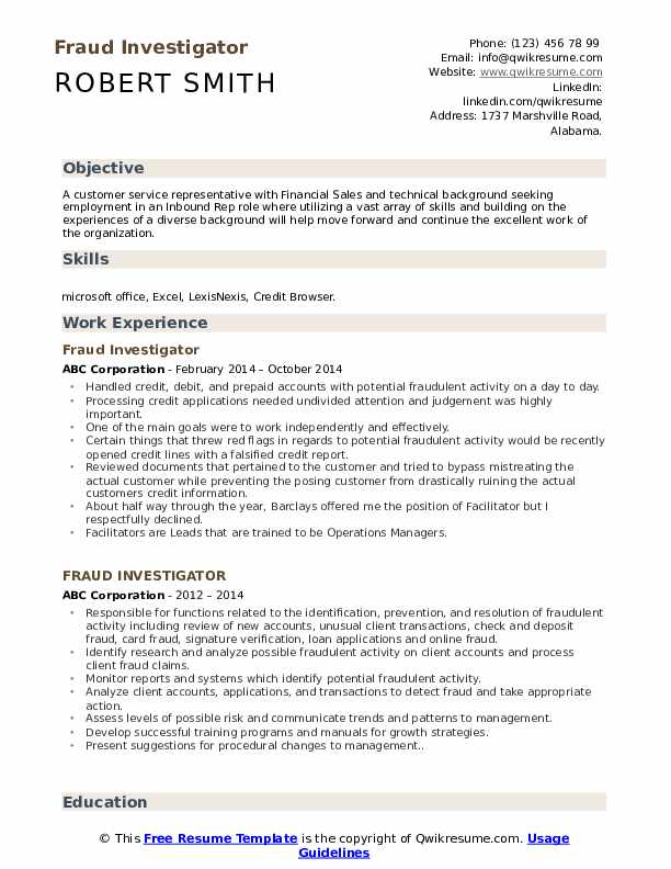 fraud investigator resume samples qwikresume insurance pdf layout word for admissions Resume Insurance Investigator Resume