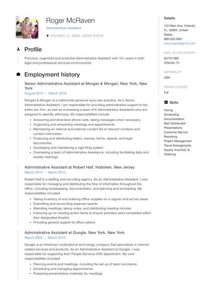 free administrative assistant resumes writing guide pdf resume title examples for sample Resume Resume Title Examples For Administrative Assistant
