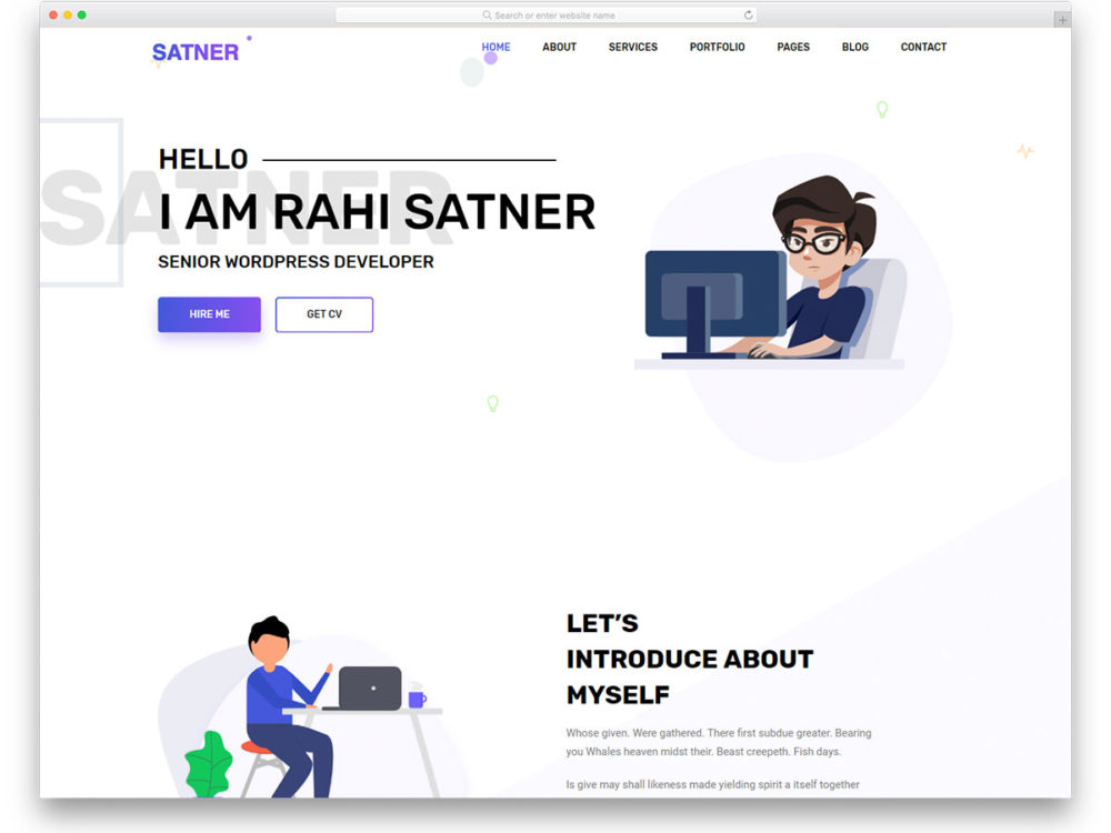 free bootstrap resume templates for effective job hunting interactive samples satner Resume Interactive Resume Samples