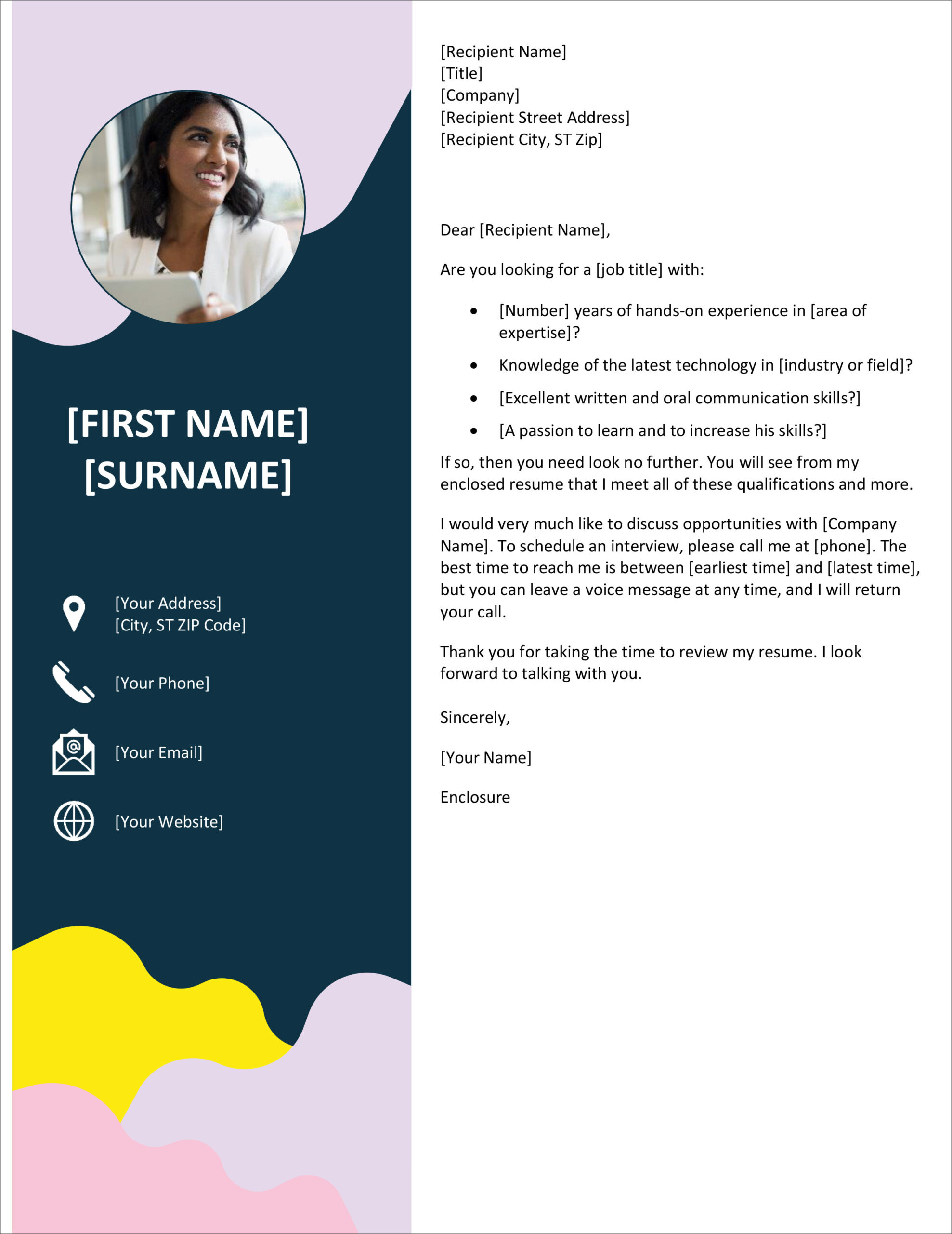 free cover letter templates for microsoft word and google docs resume template first job Resume Resume Cover Letter Template Free