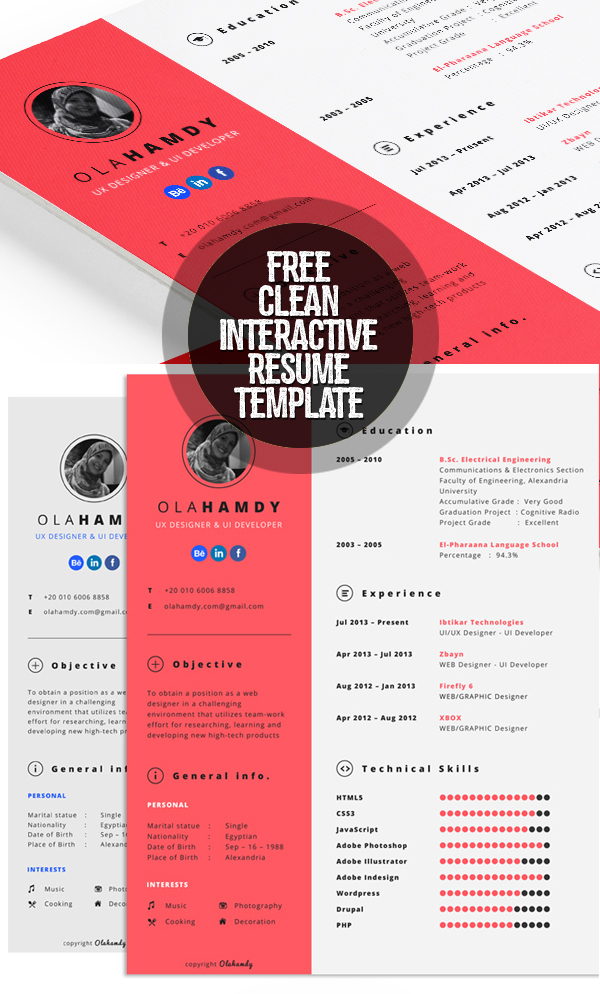 free cv resume templates best for design graphic junctiongraphic junction interactive Resume Interactive Resume Samples