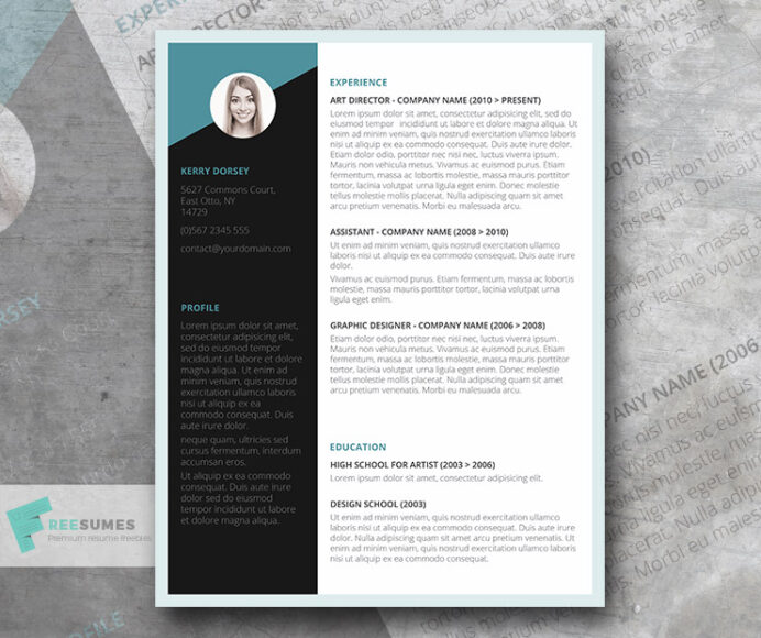 free job winning resume template instant freesumes with headshot cna summary for Resume Free Resume Template With Headshot